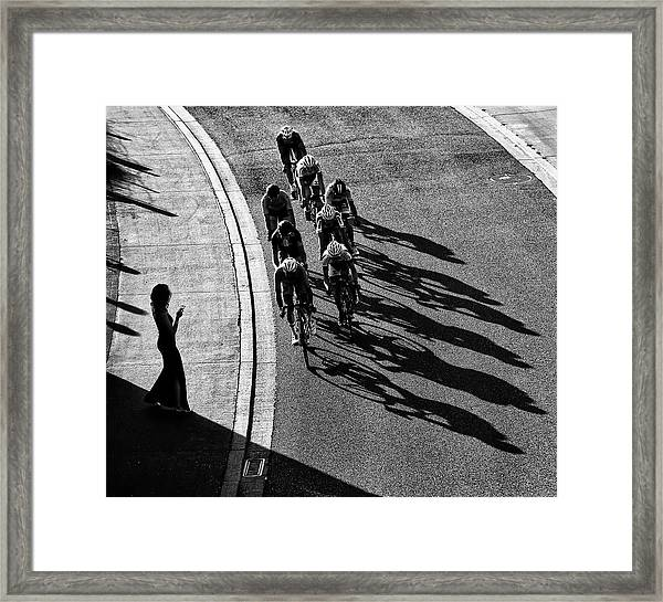 The Supporter Framed Print by Lou Urlings