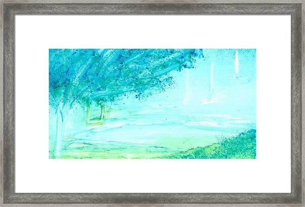 The Swing Framed Print