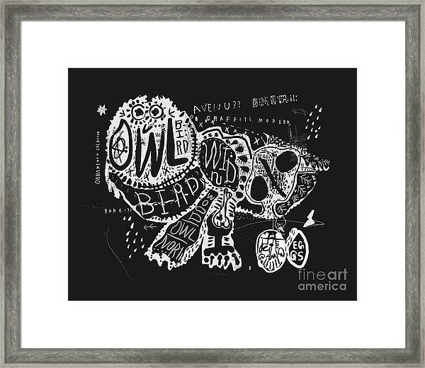 The Symbolic Image Of The Owl, Which Framed Print
