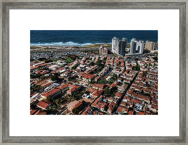 the Tel Aviv charm Framed Print