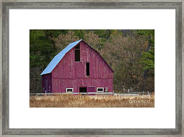 The Test Of Time... Framed Print