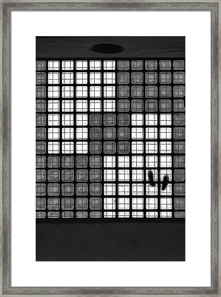 The Tetris Effect Framed Print