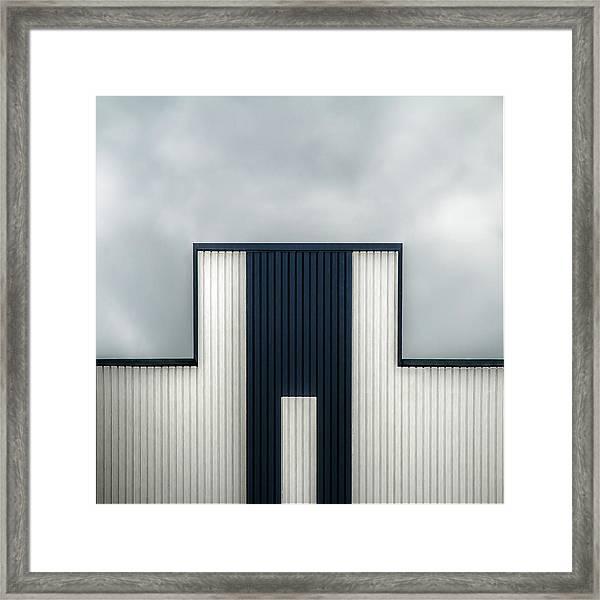 The Tetris Factory Framed Print