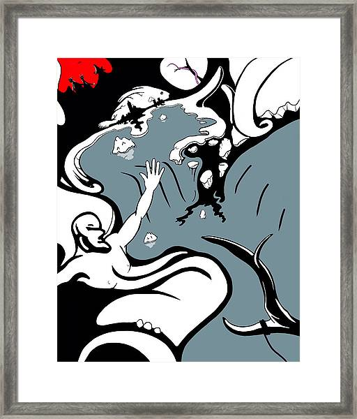 The Thaw Framed Print