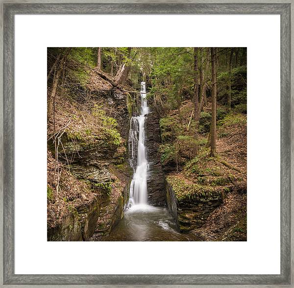 The Thread Framed Print