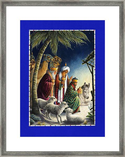 The Three Kings Framed Print