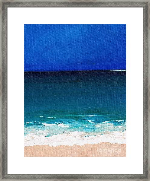 The Tide Coming In Framed Print
