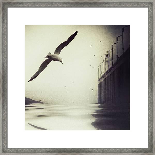 The Tide Framed Print