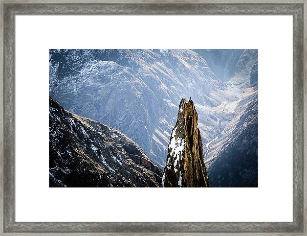 The Top Framed Print