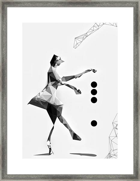 The Tourist Framed Print by PandaGunda