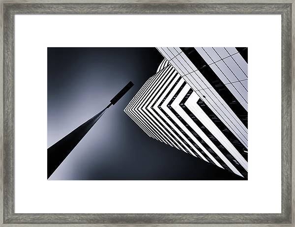 The Tower And The Lamp Framed Print