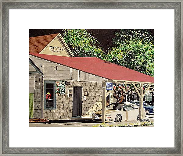 The Trap Framed Print by Paul Guyer