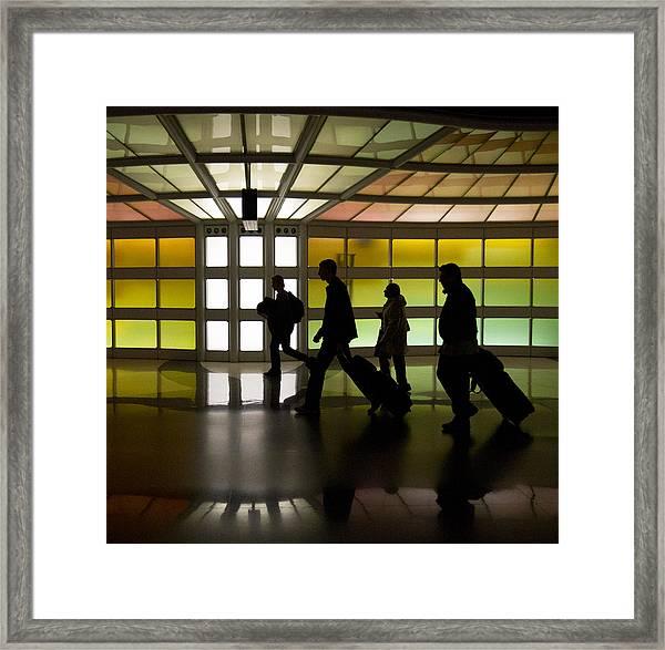 The Travelers Framed Print