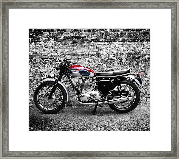 The Triumph Trophy Framed Print
