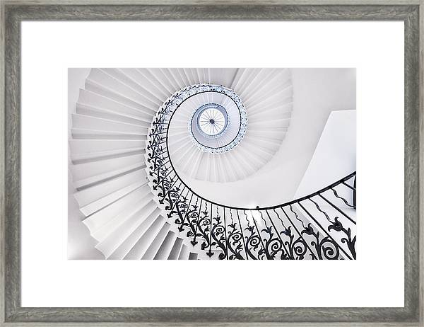 The Tulip Staircase Framed Print
