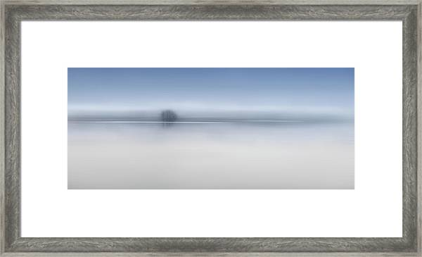 The Twilight River Framed Print