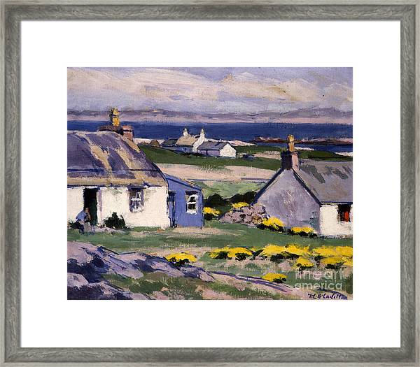 The Two Crofts Framed Print