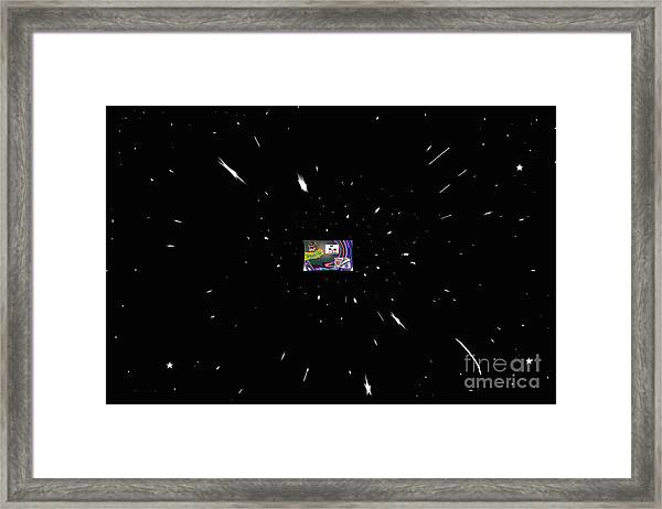 The Universe Expands As Your Thoughts Of It Expand Framed Print