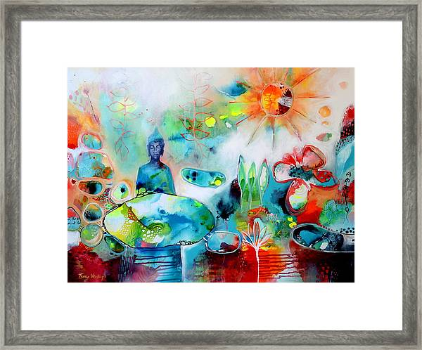 The Universe Is Within You Framed Print