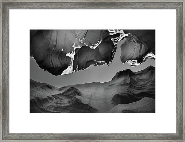 The Upper Exit Framed Print