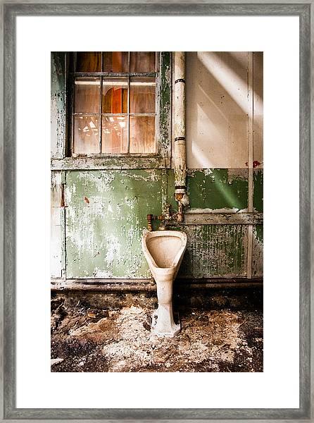 The Urinal Framed Print