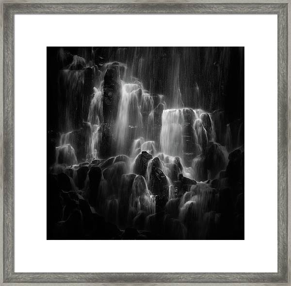 The Veiled Beings --- Ramona Falls Framed Print
