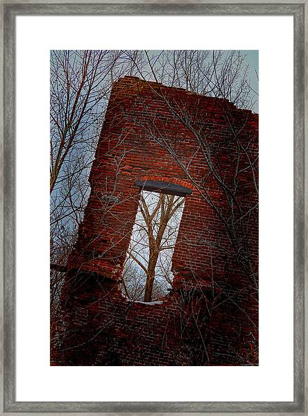 Framed Print featuring the photograph The View From Here by Beth Sawickie