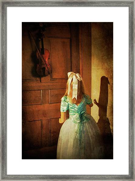 The Violn Framed Print