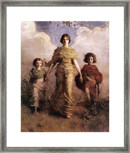 The Virgin Framed Print