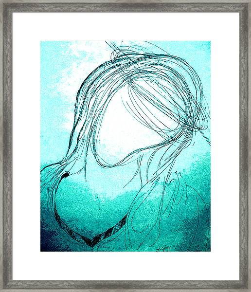 The Virgin Mary Framed Print