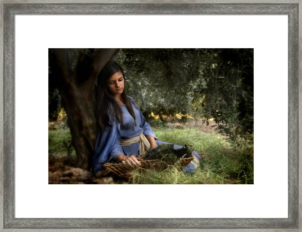 The Virgins Name Was Mary Framed Print