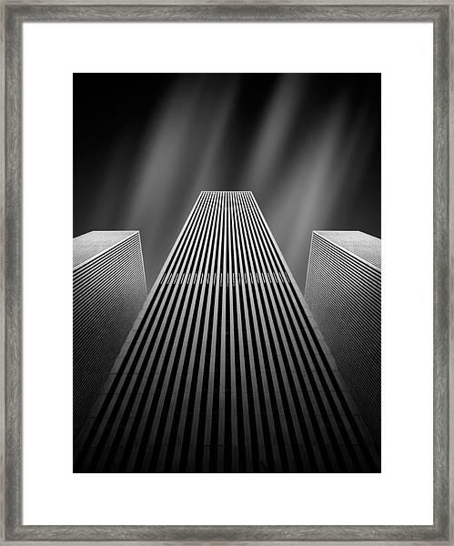 The W Framed Print by Olivier Schwartz