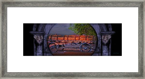 The Wagon Framed Print