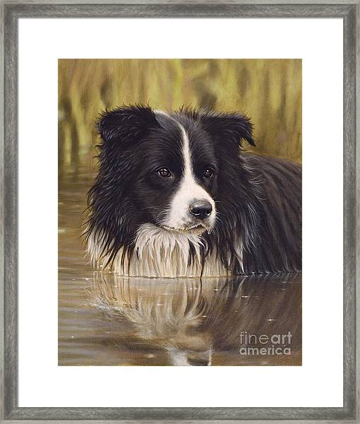 The Water Baby Framed Print