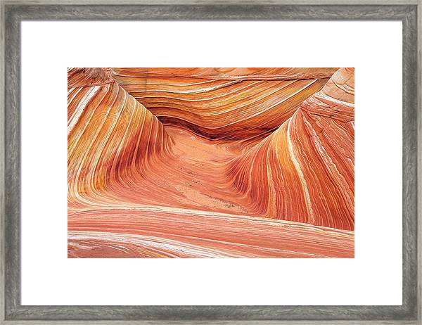 The Wave, Coyote Buttes Framed Print by Russ Bishop