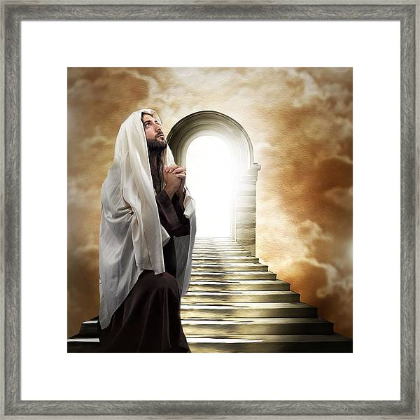 The Way To Heaven Framed Print