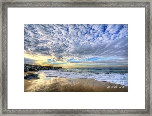 The Wedge - Newport Beach Framed Print