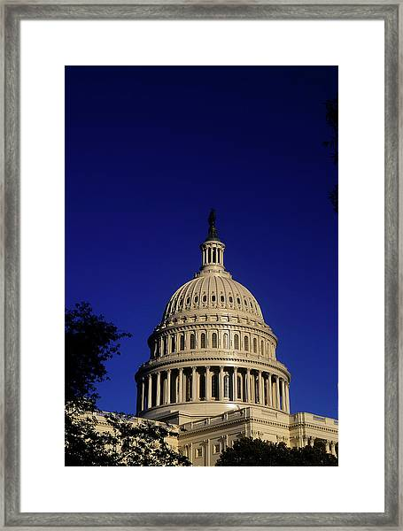 The West Side Of The United States Framed Print
