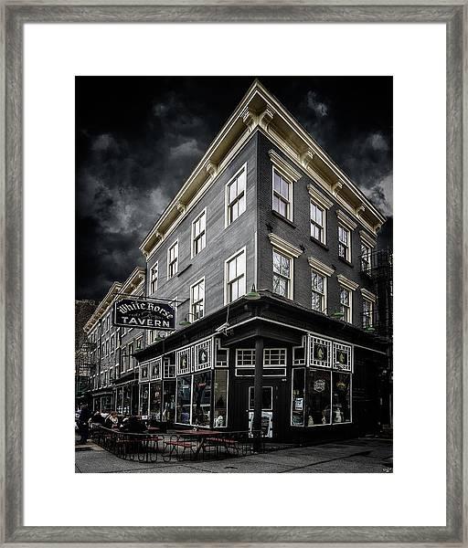 The White Horse Tavern Framed Print