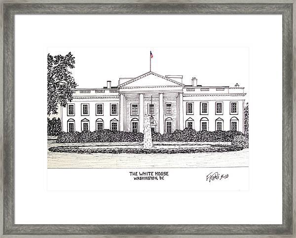 The White House Framed Print