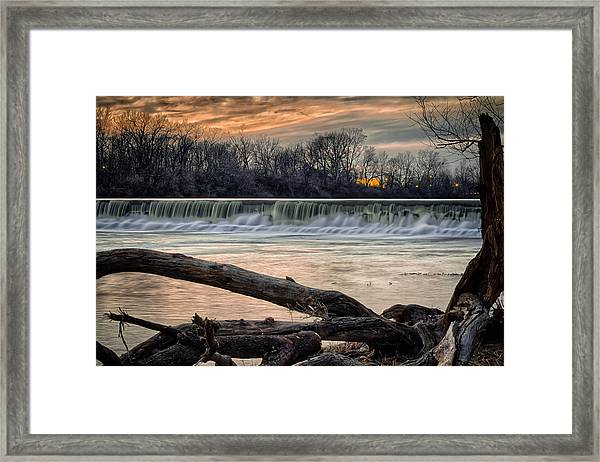 The White River Framed Print