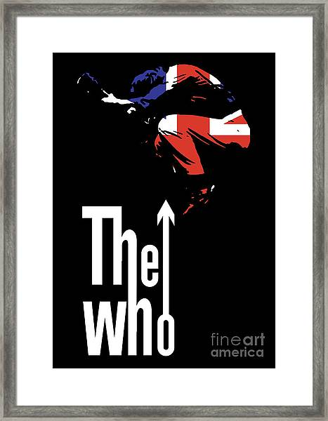 The Who No.01 Framed Print