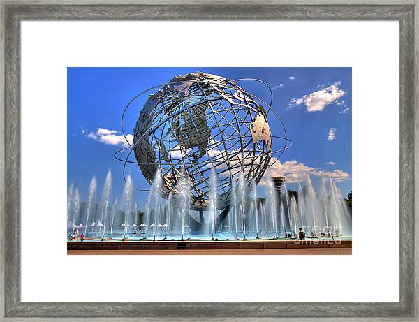 The Whole World In My Hands Framed Print
