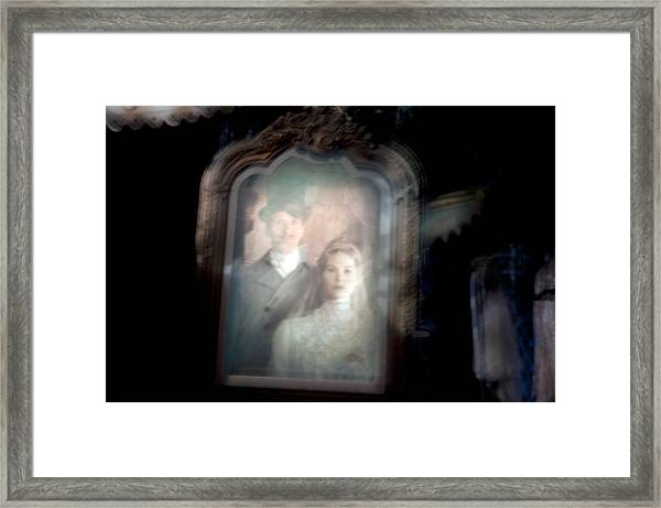 The Widow Framed Print