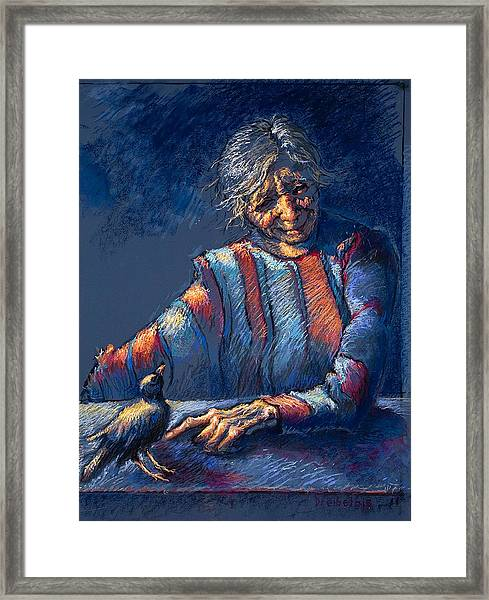 The Widow's Friend Framed Print