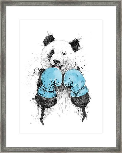 The Winner Framed Print