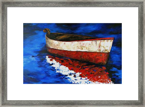 The Wright Boat Framed Print