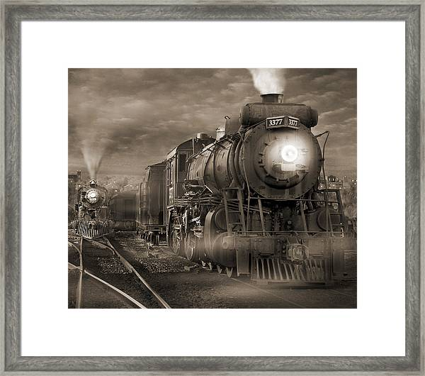 The Yard 2 Framed Print