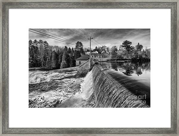 The Year Of The Flood Framed Print