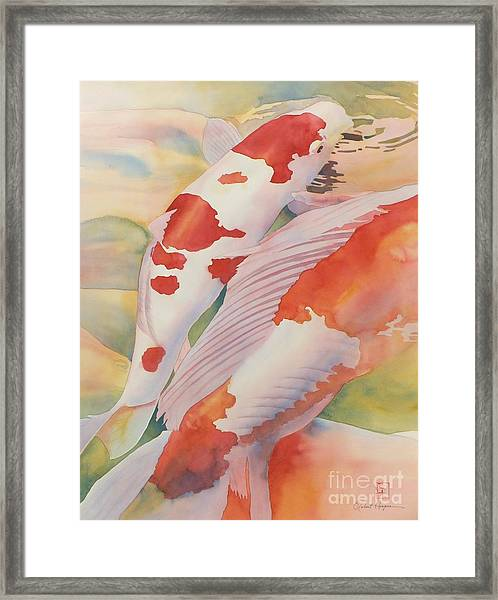 The Yellow River Framed Print